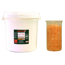 Универсална оранжева вакса в  кофа 12 кг. VOLA