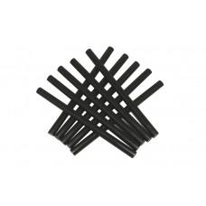Пластмасови базистни пръчки 1 кг. черни Liski