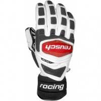 Gloves REUSCH  RACE TEC 13 GIANT SLALOM 105 WHT/FIR
