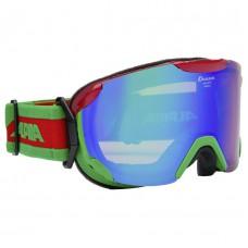 Ski mask ALPINA PHEOS S ММ red-green