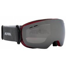 Ски маска ALPINA GRANBY S червено MM черно sph.