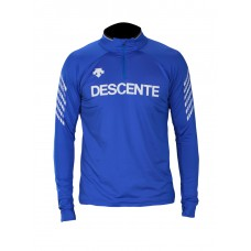 Men's T-neck Shirt Duncan Descente blue