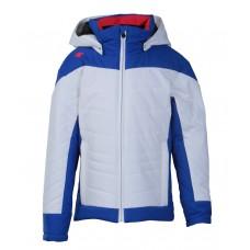 Junior Ski Jacket  Ava Descente бяло/синьо