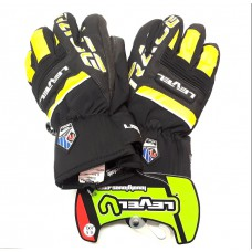 Gloves Level Race Jr yellow